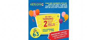 Happy 2nd Birthday to WRTS Kid's Gym Dubai!!