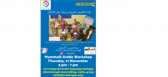 Mumztalk Arabic story telling workshop