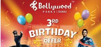 Bollywood Parks Dubai Birthday Offer