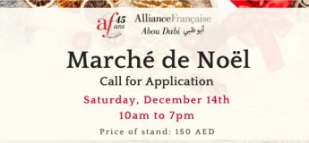Christmas Market 2019 @ Alliance Française Abu Dhabi