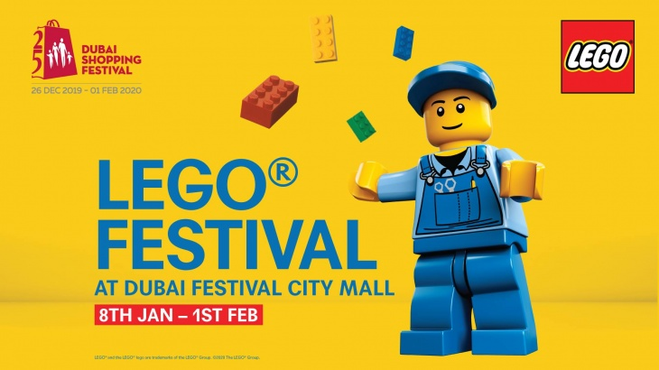 LEGO® Festival @ Dubai Festival City Mall