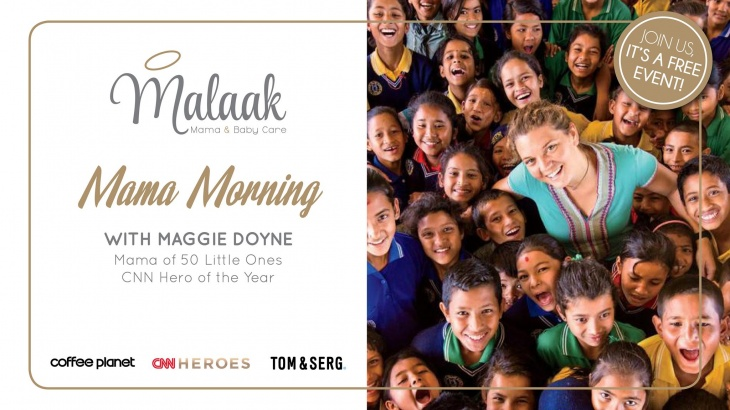 Malaak Mama Morning with Maggie Doyne