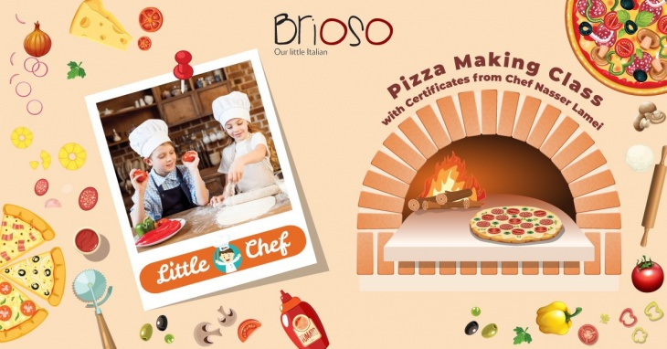 Little Chef - Pizza Making Class