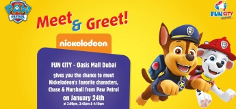 Meet & Greet with Chase & Marshall from Paw Patrol
