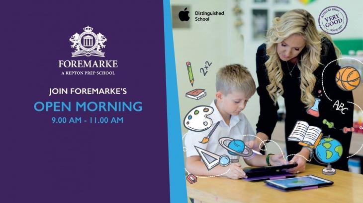 Open Morning @ Foremarke School
