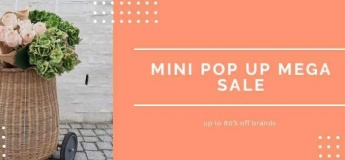 Mini Pop Up Mega Sale