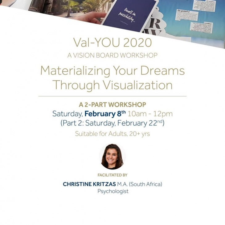 Val-You 2020: Adults Workshop