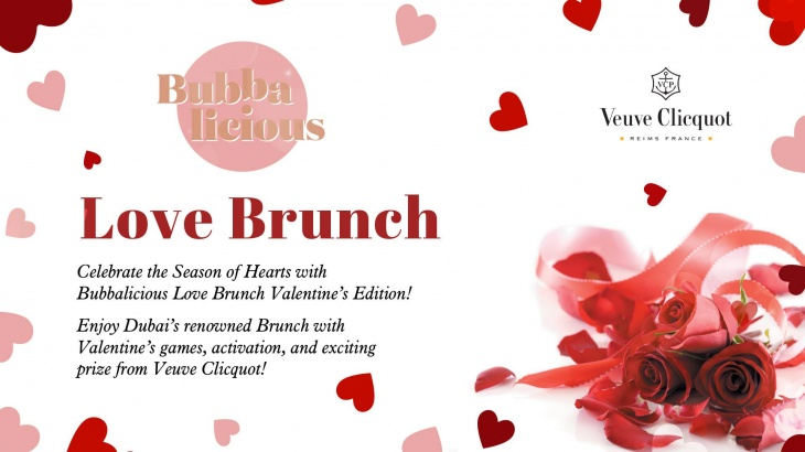 Bubbalicious Love Brunch - Valentine's Day Edition