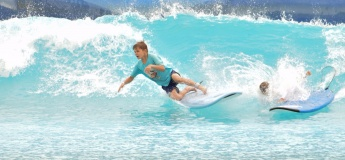 Surfing @ Wadi Adventures