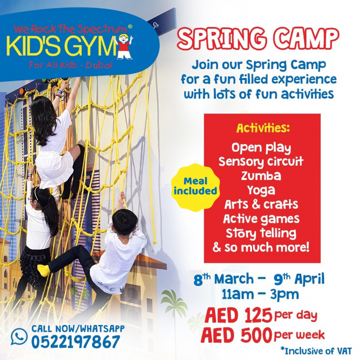 Spring Camp @ We Rock The Spectrum Kid's Gym