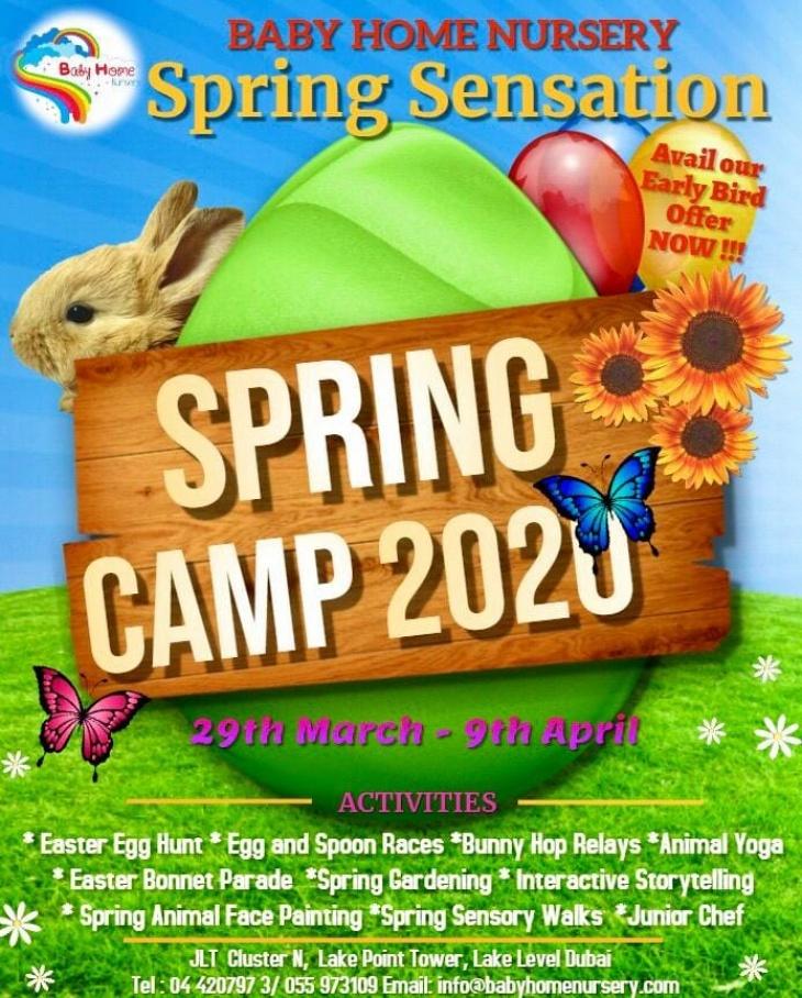 Spring Sensation  - Spring Camp 2020