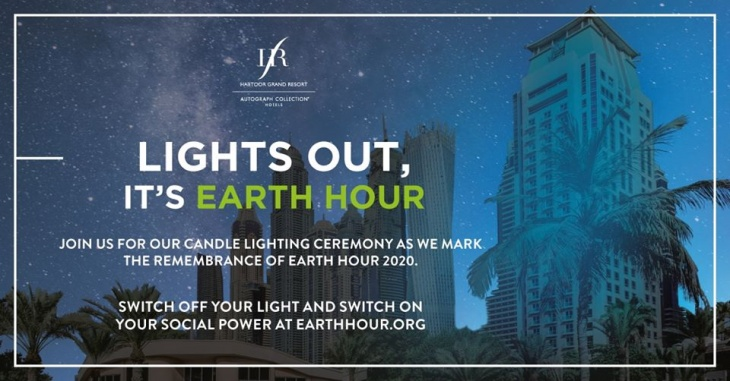 Lights Out, It's Earth Hour