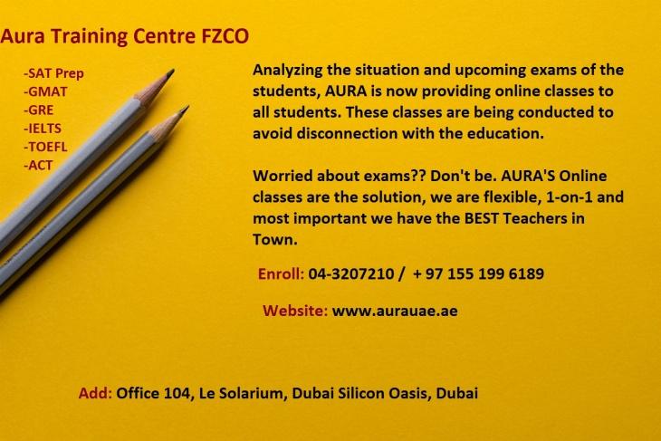 Online Classes @ Aura Learning Center