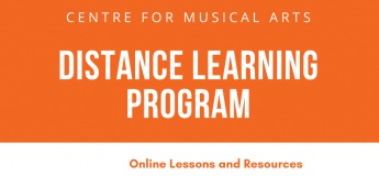 Distance Learning Program @ Centre for Musical Arts