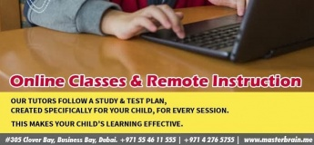 Online Classes & Remote Instruction @ Master Brain Children Development Centre