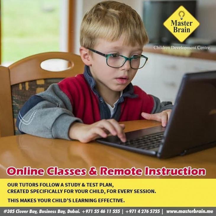 Online Classes & Remote Instruction @ Master Brain Children Development Centre