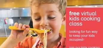 Free Virtual Kids Cooking Class