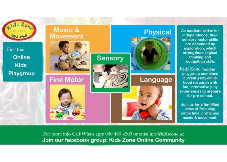 Online Playgroup - Kids Zone