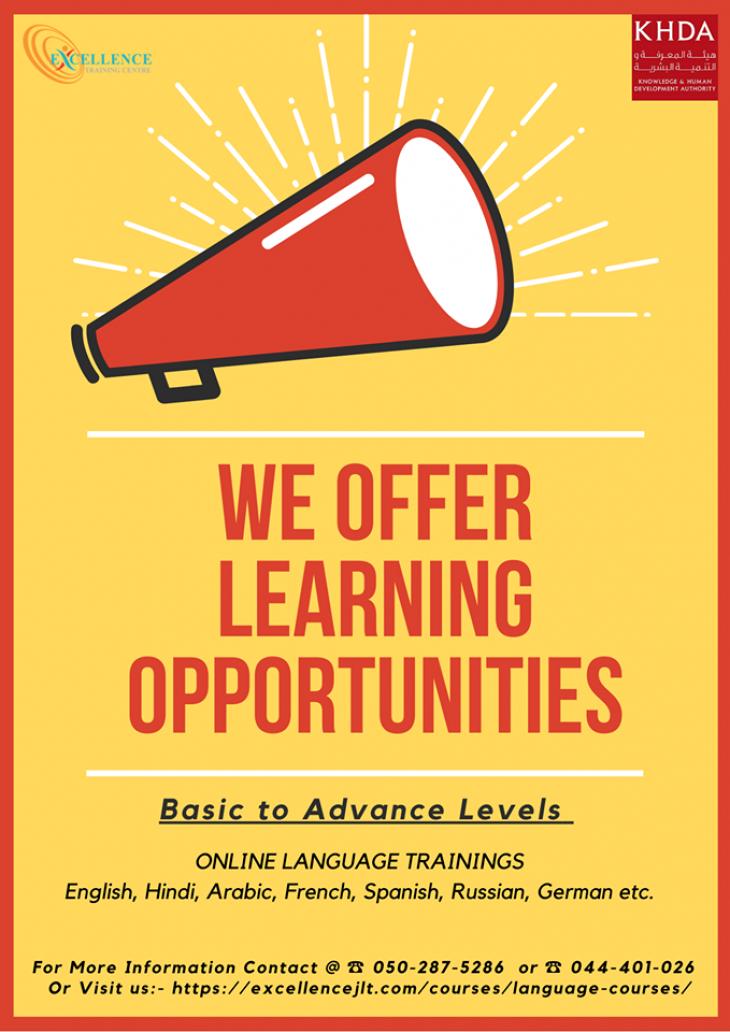 Online Language Trainings