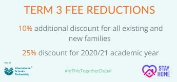 Discount on Term 3 fees @ The Aquila School Dubai