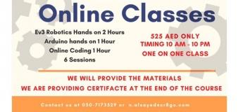 Creative Robotics Online Classes