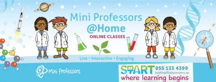 Science Classes for Children (2.5 - 6 years)