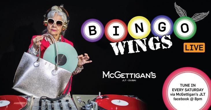 Bingo Wings LIVE!