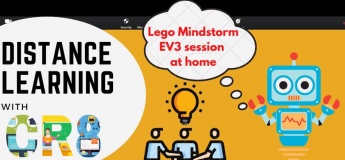 Online Lego Mindstorm EV3 class