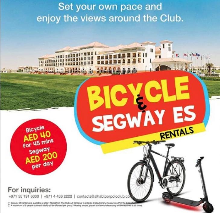 Bicycle & Segway ES Rentals
