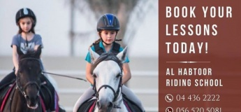 Riding Lessons @ Al Habtoor Polo Resort & Club