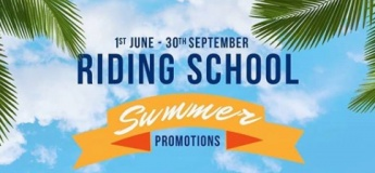 Riding School Summer Promotions