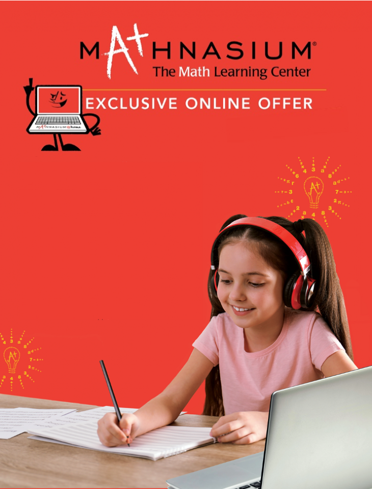 Mathnasium @Home Exclusive Online Learning Offer