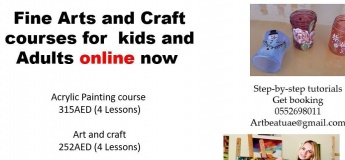 Fine Arts and Craft Courses for Kids and Adults Online