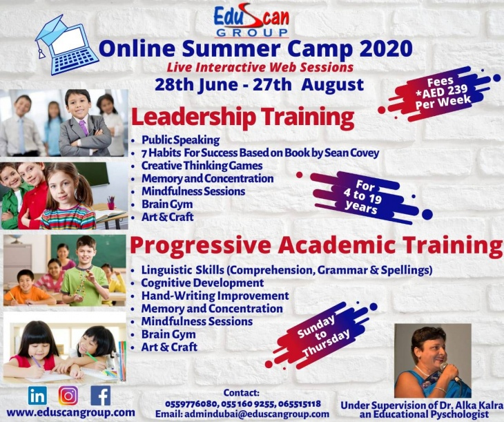 Online Summer Camp by Eduscan Group