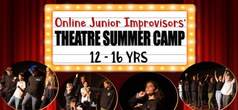 Online Junior Improvisors' Theatre Summer Camp 12–16yrs