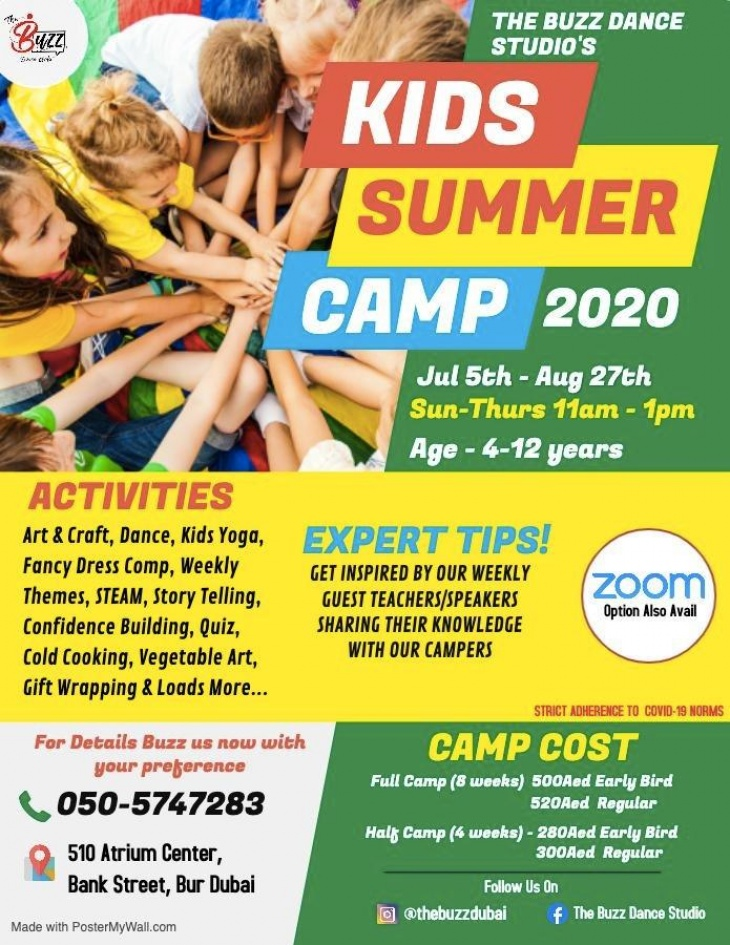The Buzz Dance Studio's Summer Camp