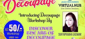 Decoupage Online Workshop