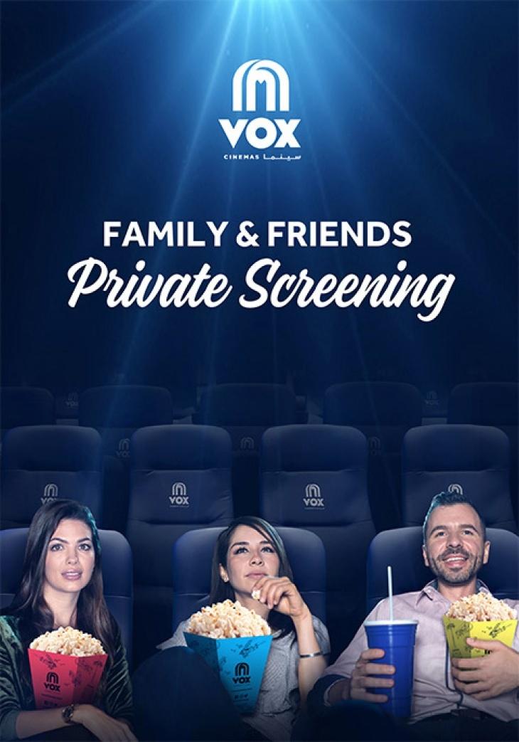 Family & Friends Private Cinema