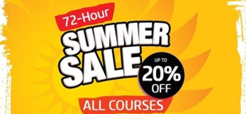 All Courses Summer Sale up to 20% OFF