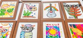 Kids Workshop: Painting on Glass