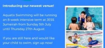 Aquatix Swimming Lessons @ JESS Jumeirah