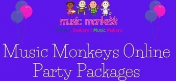 Zoom Birthday Party with Music Monkeys