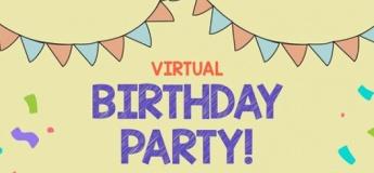 Virtual Birthday Party with Dino Staury