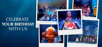 Birthday Party @ Dubai Aquarium & Underwater Zoo