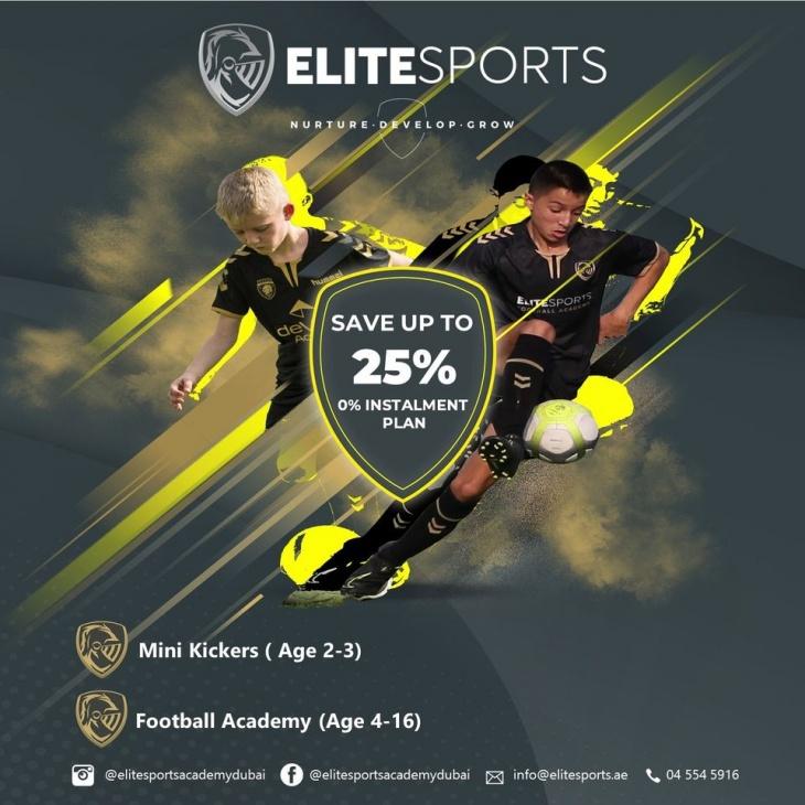Elite Sport Football Sessions @ Arabian Ranches Golf Club