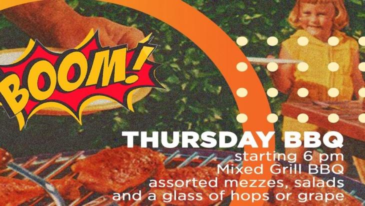 Thursday BBQ @ Jumeirah Islands Club