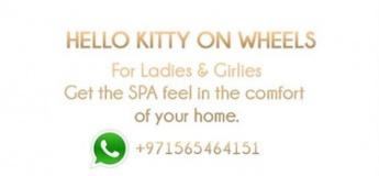 Hello Kitty Beauty Spa On Wheels Services
