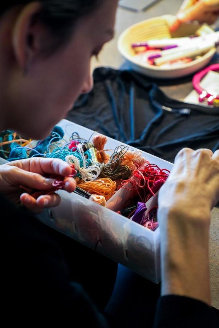 Community Embroidery Club