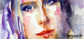 Online Workshop (English): Watercolor Portraits Workshop