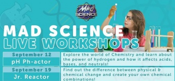 Live Workshop Series by Mad Science